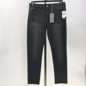 Wit & Wisdom jeans seamless ankle skimmer raw 10